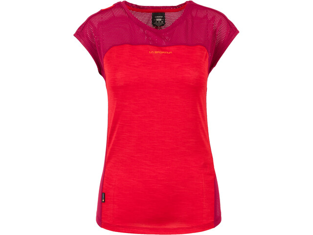 La Sportiva Traction T-Shirt Femme, garnet/beet